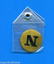"""KICA - Sorprese Decalcomania Figurina-Sticker anni 60 - LETTERA """"N"""" TONDA"""