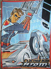 TV Theme Kids Fleece Blanket - Action Man Atom