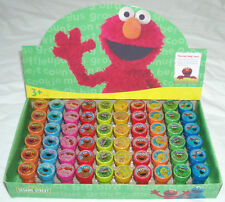 20 pieces Sesame Street Elmo Self Inking Stamper Pencil Topper Party Bag Fillers