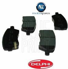 FOR NISSAN MICRA 1.2i K13 2010-- ON FRONT DELPHI BRAKE DISC PADS *OE QUALITY*