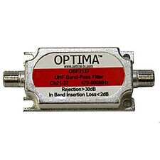 Optima Uhf paso banda filter/frequency interferencia Blocker Grupo un ch21-37