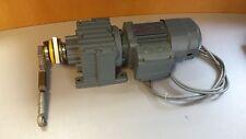 SEW-EURODRIVE Motor R27 DR63M4/BR Bremse V 220-266 AC Gleichrichter BG1.2 KW0,18