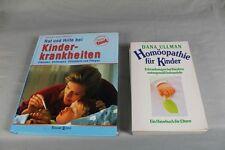 2 Bücher - Homöopathie für Kinder + Rat und Tat bei Kinder Krankheiten    /S186