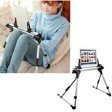 Collapsible Phone Mount Holder Aluminium Floor Bed Tablet Stand for iPad iPhone