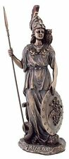 Athena Ancient Mother Goddess Roman Minerva Female Warrior in Armor Statue #3196