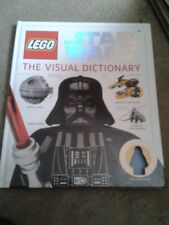 Lego Star Wars Visual Dictionary HB book (NO FIGURE!)