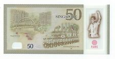 Singapore SG50 $50 banknote first prefix 50AA251608  UNC  Nice Number (SG-9)