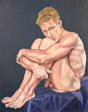 Oh boy, homme nu canvas print nude male with nice feet