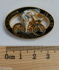 CHRIS BOARDMAN TOUR DE FRANCE CYCLING RARE PIN BADGE