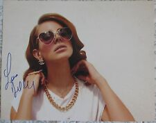 LANA DEL REY Signed 11x14 inch photo DC/COA (PROOF) BORN TO DIE,VIDEO GAMES