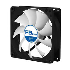 2 x Arctic Cooling F9 PWM 90mm Case Fan upto 1800 RPM (AFACO-090P2-GBA01) AC