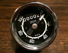 NOS 100 MPH VEGLIA SPEEDOMETER FOR WARDS BENELLI MOTOBI BENCH TESTED-PERFECT!