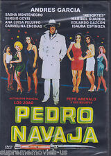 NEW - Pedro Navaja DVD NEW Andres Garcia ORIGINAL Resortes BRAND NEW
