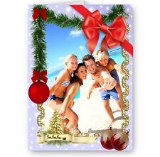 Personalised Your Photo, Any Picture A5 Happy Christmas, Holidays Card