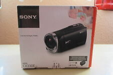 Sony HDR-CX330 HD Flash Camcorder schwarz wie neu top