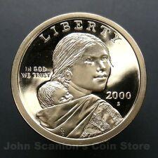 2000-S Sacagawea Dollar - Gem Proof Deep Cameo U.S. Coin