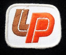 """LP BUILDING PRODUCTS COMPANY EMBROIDERED SEW ON PATCH BINGHAMPTON NY 3"""" x 2 1/2"""""""
