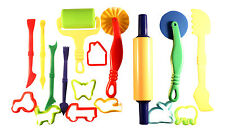 Play Doh Tools Set For Kids Set Of 17 FREE DELIVERY Pastry  Pizza Playdoh Fimo