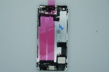 NEW IPHONE 5S SILVER COMPLETE BACK COVER, COMPLETE SHELL,HOUSING ALL INNER PARTS