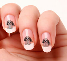 20 Nail Art Stickers Transfers Decals #660 - Shih Tzu dog peel & stick