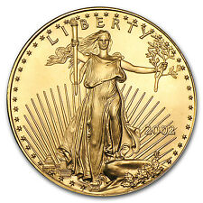 2002 1 oz Gold American Eagle Coin - Brilliant Uncirculated - SKU #73761