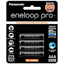 Panasonic Eneloop Pro 4 aaa 950mAh 4HCCE Rechargeable PreCharged NiMH Battery