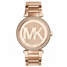 MICHAEL KORS MK5865 LADIES ROSE GOLD PARKER WATCH