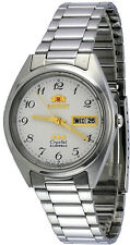 Orient FAB00003W Men's 3 Star Classic White Numbers Dial Date Automatic Watch