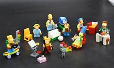 Lots 8 PCS The Simpsons building Minifigures block toys fit lego new in bags