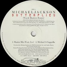 "Michael Jackson feat. Eve - Butterflies RMX - 12"" US Promo NM/NM"