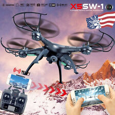 X5SW-1 Wifi FPV RTF 2.4G 4CH RC Quadcopter Gyro Drone HD Camera Helicopter