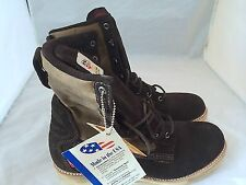Brand New The Gorilla Shoe Boots Work Boots Chocolate High Suede Brown SZ 9