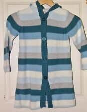 GYMBOREE girls Blue STRIPE MY BEST FRIENDS Sweater Duster Jacket* 5