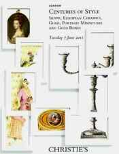 CHRISTIE'S SILVER, EUROPEAN CERAMICS, GLASS, PORTRAIT MINIATURES & GOLD BOXES