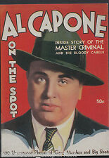 Advertising Postcard - 1930's US Magazine Cover - Al Capone On The Spot  BT796