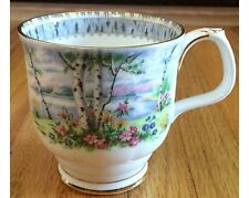Vintage Royal Albert Silver Birch Montrose Coffee Mug (3 Available) 1st Quality