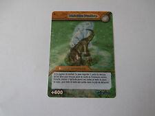 Carte Dinosaur King Entaille Furtive Aventure Spatio-Temporelles