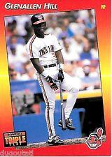 ⚾️ 1992 ~ Triple Play #181 ~ Glenallen Hill ~ Cleveland Indians ~ ExMt=6