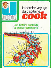 JUNIOR N° 10  mars 1977  INTERVIEW SERGE LAMA  CUBITUS  RORIKA  COOK  CORENTIN