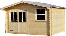 LOG CABIN 13 ft ( 3.88M) X 10ft (2.98M) ,28MM T&G ,WORKSHOP