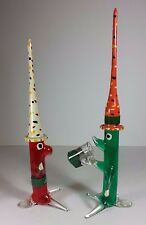 RETRO VINTAGE MURANO GLASS LAMPWORK CLOWN / MEXICAN FIGURES