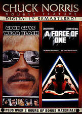 Chuck Norris Double Feature: Good Guys Wear Black/A Force of One (DVD, 2014,...