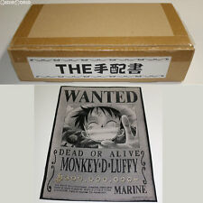 [USED] Ori Art The Wanted Poster 01 Luffy One Piece Toy BANDAI Japan