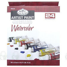 Royal Langnickel Artist Watercolour 24 x 21ml Paint Tube Box Set.Assorted Colour