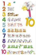 POSTER 1 to 10 Baby Animals