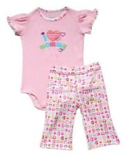 I Love Mommy Carter's Pants Set  Size 3 months