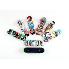 Funny Kid Gift Mini Toy Tech Deck Skate Finger Board Skateboard Miniature 2pcs