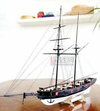 KIT HMS HALCON 1840 1:100 HISTORIC SHIP WOODEN MODEL KIT + MAT + 13 pcs KNIFE