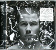 JONAS NICK LAST YEAR WAS COMPLICATED CD NUOVO SIGILLATO !!