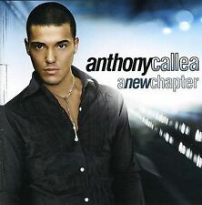 ANTHONY CALLEA : A NEW CHAPTER, Pop **NEW CD**